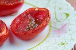 Pomodori al forno Stock Photography