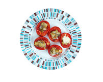 Pomodori al forno Stock Image