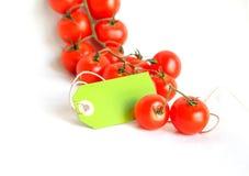 Pomodori ciliegia Immagini Stock