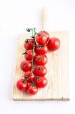 Pomodori ciliegia Immagine Stock