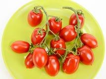 Pomodori ciliegia italiani fotografia stock libera da diritti