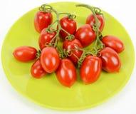 Pomodori ciliegia italiani immagine stock
