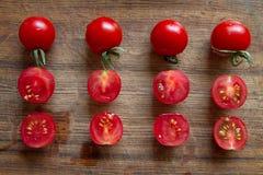 Pomodori ciliegia VIII Fotografie Stock