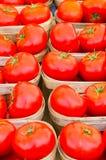 Pomodori del mercato Immagine Stock