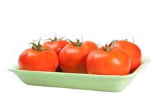 Pomodori dell'imballaggio Immagine Stock Libera da Diritti
