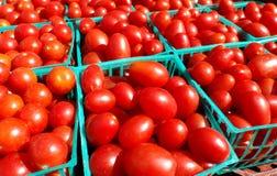 Pomodori dell'uva fotografie stock