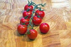 Pomodori della vite Immagine Stock