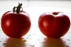 Pomodori delle coppie Immagini Stock