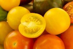 Pomodori di Cherrry Immagine Stock Libera da Diritti