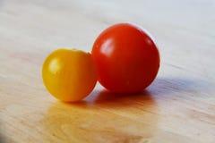 Pomodori di ciliegia 10 Fotografia Stock Libera da Diritti