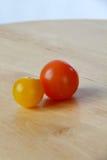 Pomodori di ciliegia 11 Fotografia Stock