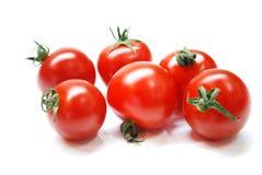 Pomodori di ciliegia Immagini Stock Libere da Diritti