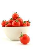 Pomodori di ciliegia Fotografie Stock