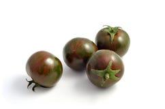 Pomodori di ciliegia di Heirloom fotografie stock libere da diritti