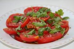 Pomodori di estate Immagine Stock Libera da Diritti