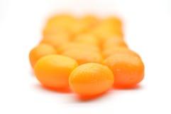 Pomodori di prugna freschi, pomodori di ciliegia Immagine Stock Libera da Diritti