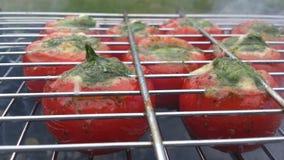 Pomodori farciti Immagine Stock Libera da Diritti