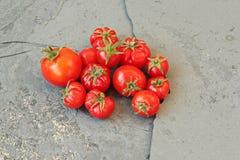 Pomodori freschi Immagine Stock Libera da Diritti