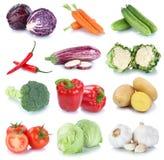 Pomodori freschi c della lattuga delle patate del peperone dolce delle carote delle verdure Immagine Stock Libera da Diritti