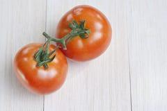 Pomodori freschi grezzi Immagine Stock Libera da Diritti