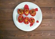 Pomodori gratinati alla pugliese Obrazy Stock