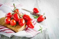Pomodori maturi Immagine Stock