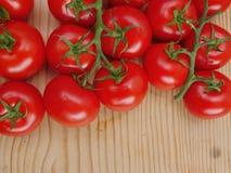 Pomodori maturi freschi Fotografia Stock