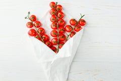 Pomodori maturi freschi Fotografia Stock Libera da Diritti