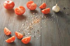 Pomodori maturi sugosi Fotografia Stock Libera da Diritti