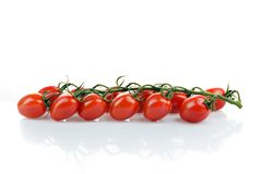 Pomodori, pomodori di ciliegia, pomodori di ciliegia Immagini Stock