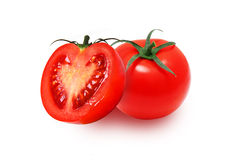 Pomodori rossi freschi Fotografia Stock