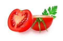 Pomodori rossi freschi Fotografia Stock Libera da Diritti