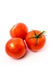 Pomodori rossi freschi Fotografie Stock