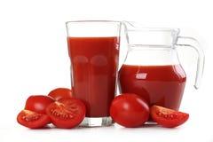 Pomodori rossi freschi fotografie stock libere da diritti