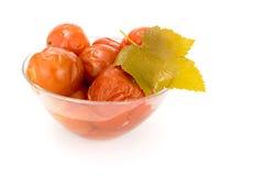 Pomodori salati Immagini Stock
