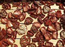 Pomodori seccati al sole Immagine Stock Libera da Diritti