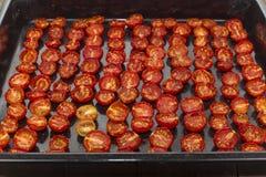 Pomodori seccati al sole Fotografia Stock Libera da Diritti