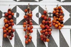 Pomodori secchi Immagini Stock Libere da Diritti