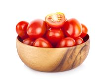 Pomodori su fondo bianco immagini stock libere da diritti