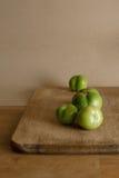 Pomodori verdi Immagine Stock