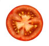 Pomodoro affettato Fotografia Stock Libera da Diritti