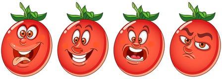 Pomodoro Concetto di verdure dell'alimento illustrazione vettoriale