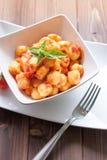 Pomodoro di Al di Gnocchi Fotografie Stock