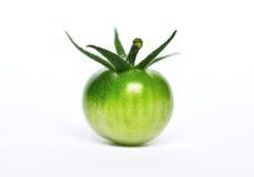Pomodoro di ciliegia verde Fotografia Stock Libera da Diritti