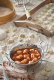 Pomodoro di gnocchi Fotografie Stock