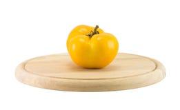 Pomodoro giallo Fotografia Stock Libera da Diritti