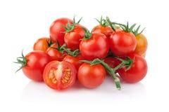 Pomodoro isolato sui precedenti bianchi immagini stock libere da diritti