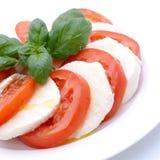 Pomodoro-mozzarella Fotografie Stock