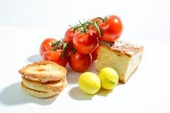 Pomodoro per alimento sano Fotografie Stock