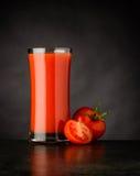 Pomodoro rosso Juice Drink Fotografia Stock